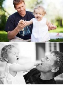 Familjen Nilsson; familjefotografering